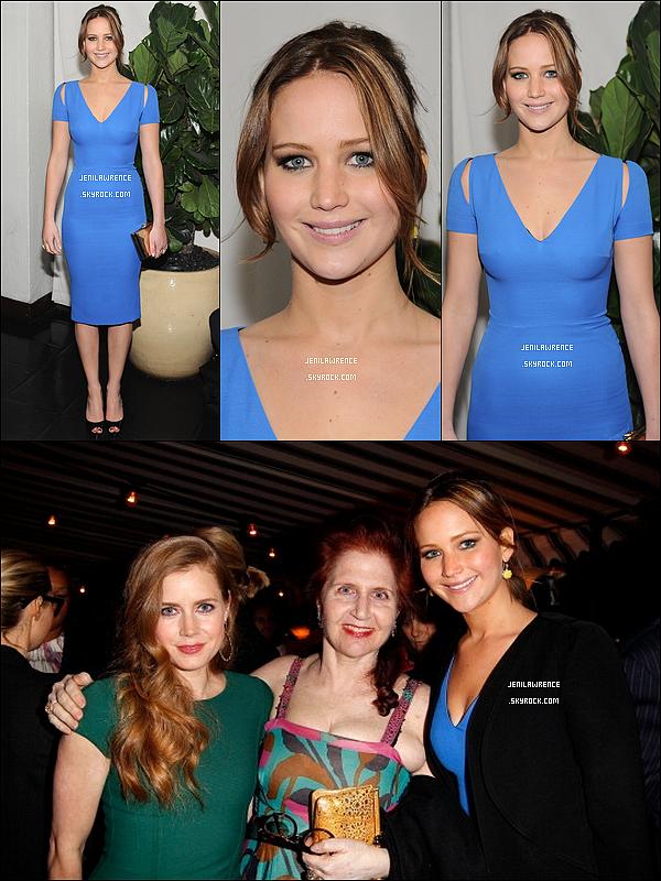 • 11/01/2013 Jennifer a été invité au déjeuner des AFI Awards à l'hôtel Four Seasons de Beverly Hills •