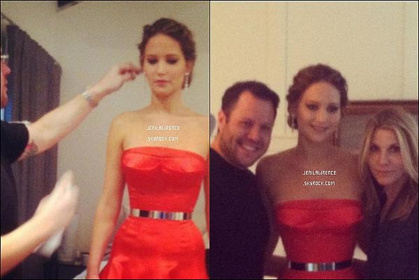 • 15/01/2013 Jennifer était sur le plateau du Late Show with David Letterman à New York •