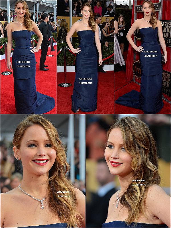 • 27/01/2013 Jennifer était aux Screen Actors Guilde Awards •