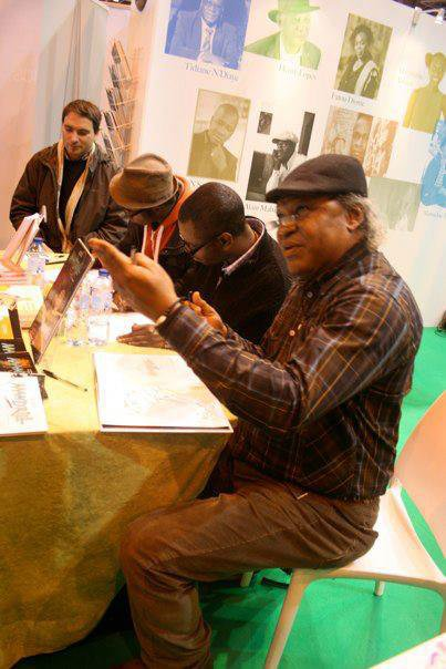 Al Mata, Barly Baruti au salon du livre à Paris.