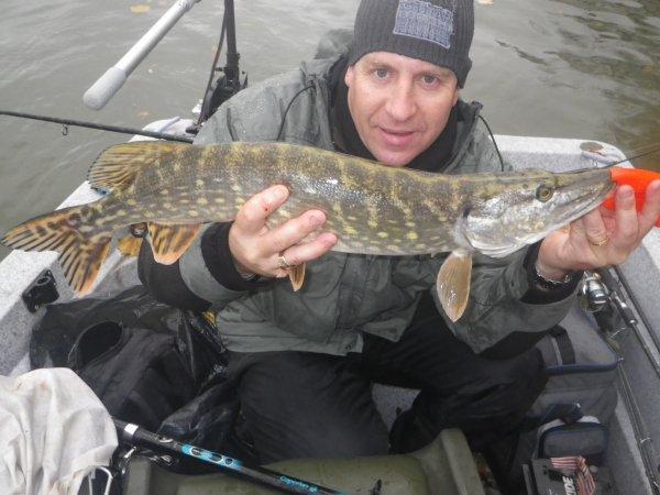Pêche du 18.11.2012 avec Tof et Seb