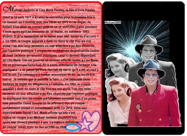 Michael Jackson et Lisa-Marie Presley