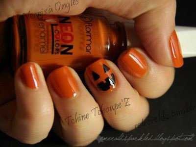 nail art simple à réalisé pour demain !
