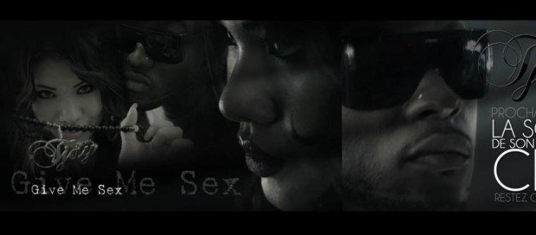 le teaser de mon  clip  GIVE ME SEX (zouk r&b) sera en ligne le 14 février!!!