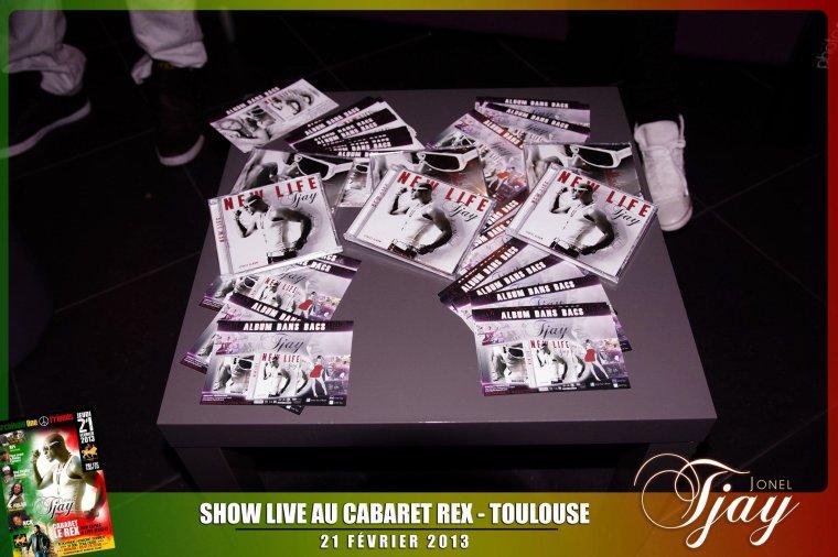 Concert Jonel Tjay au Rex à Toulouse