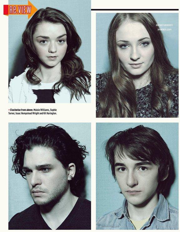 • Scans de Empire Magazine pour la saison 3 de GoT (Avril 2013) SophieTurnerFR