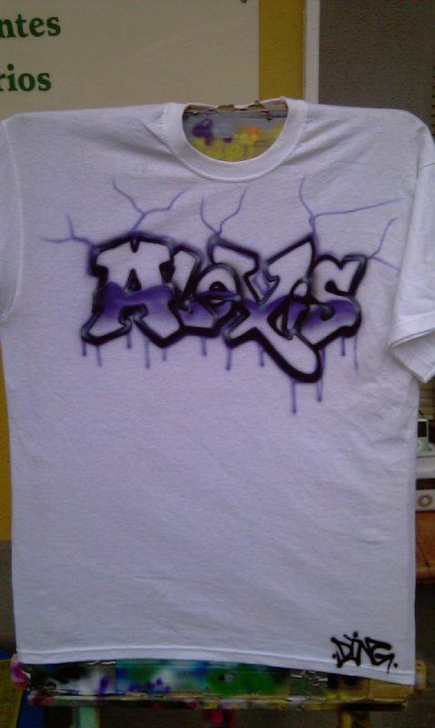 t-shirt graff alexis