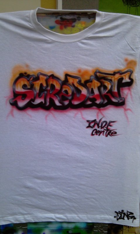 t-shirt graff scredart