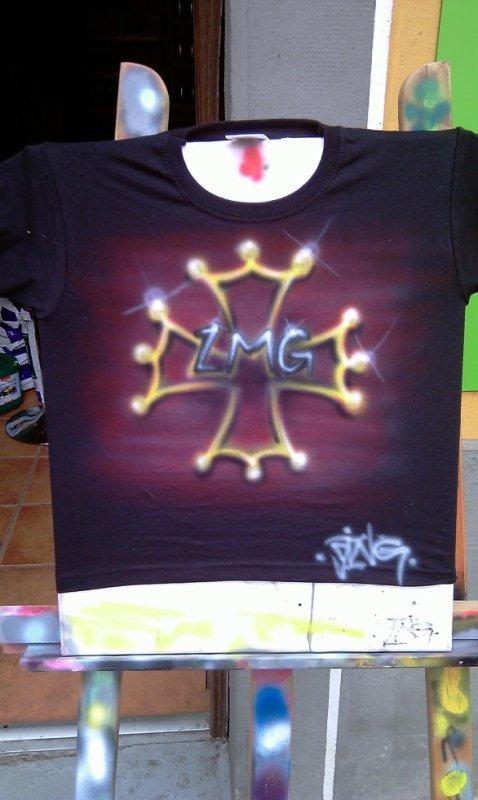 t-shirt croix oxitane