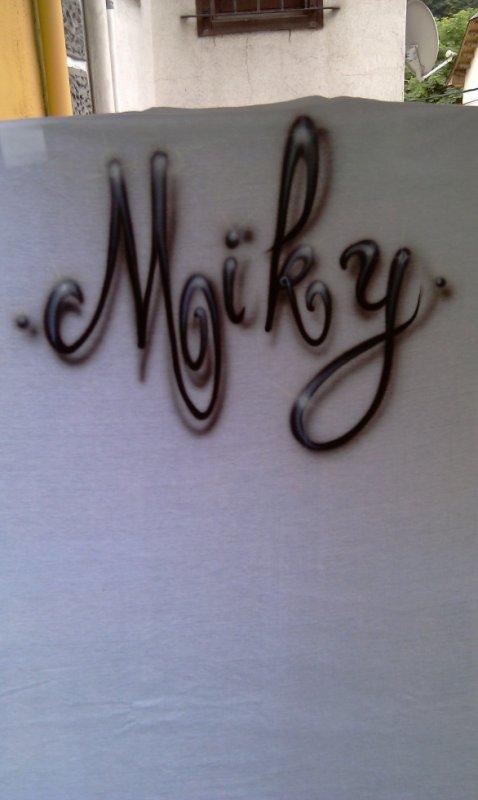 t-shirt graff miky