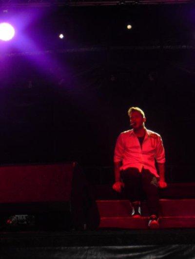 Concert M.Pokora A Calais (62) Le 27 Aout 2011