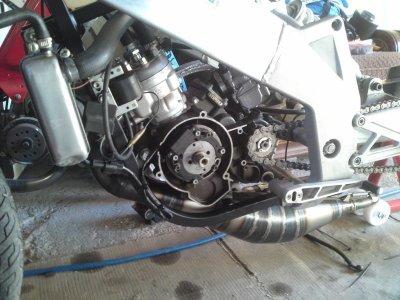 moteur de la drd fast rider