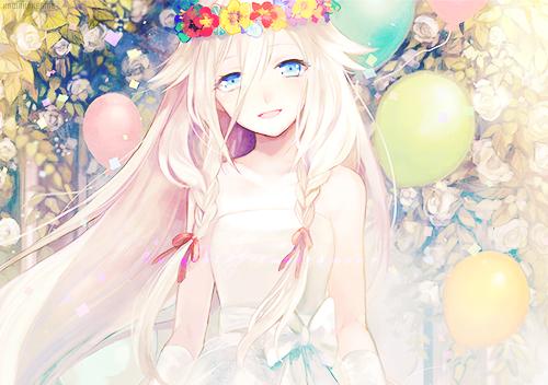 Manga fille qui souris d kawaii land - Fille de manga ...