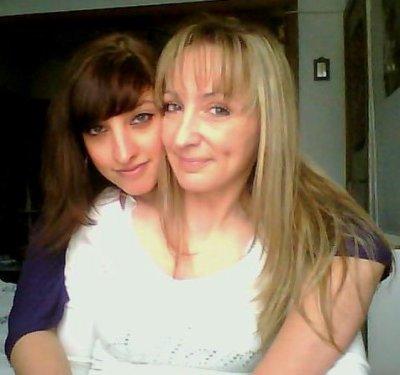 Içi avec ma meilleure amie Sandy( novembre 2010)