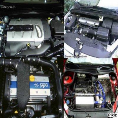 Peugeot 307 vs Citroen C4 vs Renault Mégane II vs Opel Astra