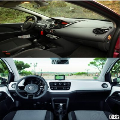 Volkswagen Up vs Renault Twingo