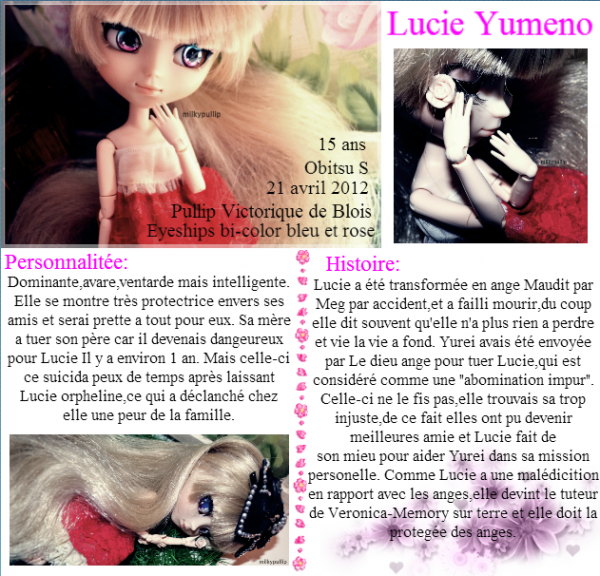 Ma première pullip : Lucie