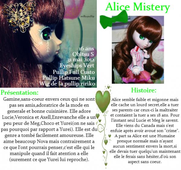 Ma deuxième pullip : Alice