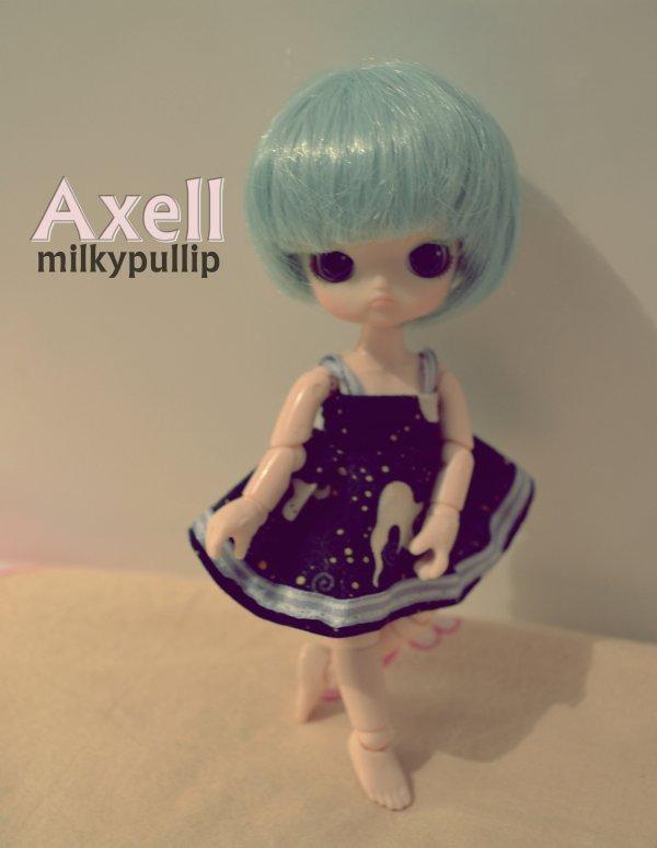 Axell a enfin son obitsu 11 cm ^^