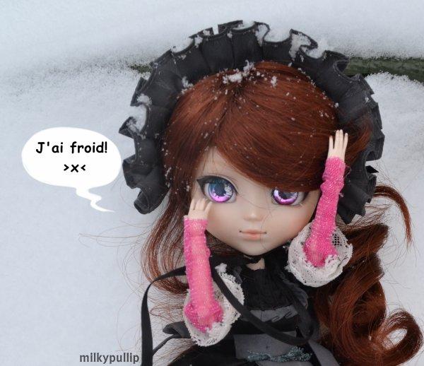 Lucie dans la neige partie 2 (bah vous voulez que je mette quoi comme titre XD y a pas grand choix XD)