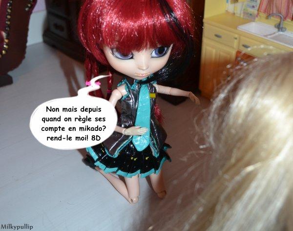 The power of mikado  ...  Lucie Versus Meg