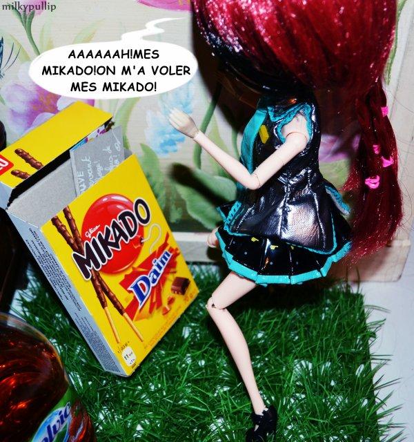 The power of mikado  ...  Inconnue Versus Meg