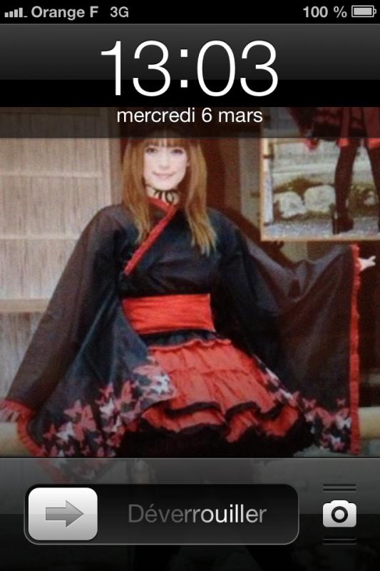 Voici la robe que je porterais au japan expo :3