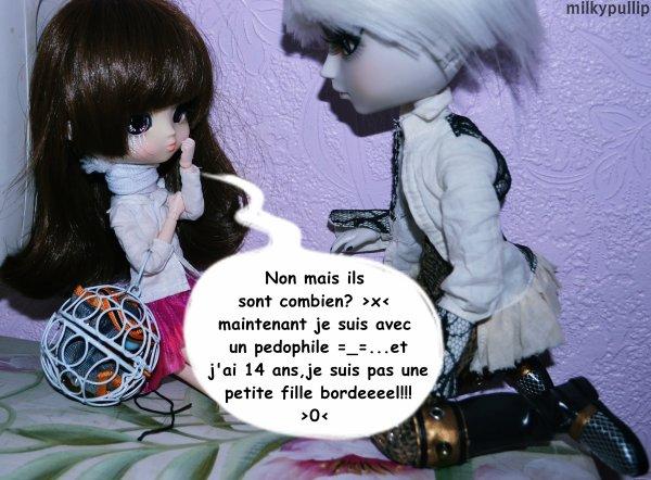 La rencontre entre Choco Latte et mes dolls parite 3 :3