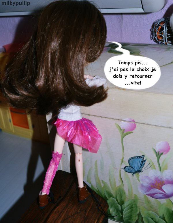 La renconttre entre Choco Latte et mes autres dolls :3 partie 5 ^^ (plus BONUS pour vous faire patienter ^^)