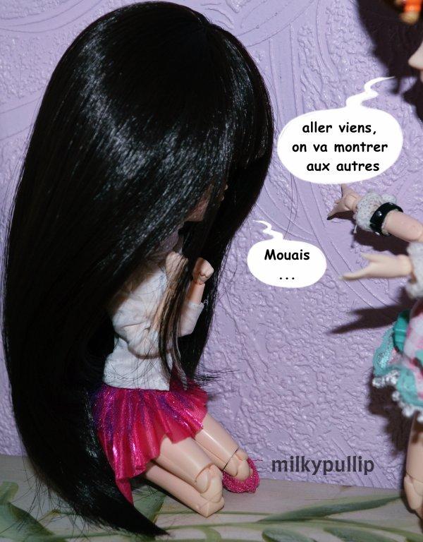 La rencontre entre mes dolls et Choco Latte (ouais le titre a changer XD la flemme de rectifier x)) partie 8