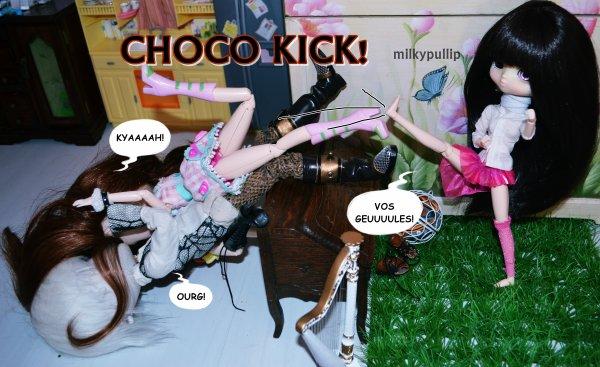 La rencontre entre Choco Latte et mes autres dolls partie 9/fin