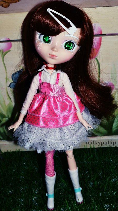 Alice ma sweet lolita :3 sur ce photoshoot on voit bien le make-up que je lui avais fait ^^ Partie 1