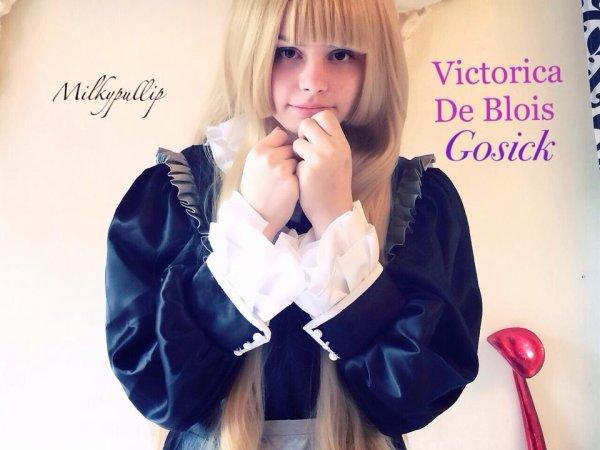 Cosplay de Victorica de Blois de Gosick enfin reçus :3