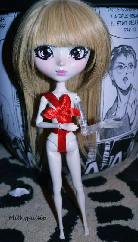 "Nouvelle doll eu au JE ""Darling"" (make it own) (ange robot)"