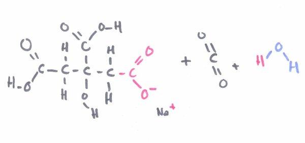 Le bicarbonate de soude et l 39 acide citrique ainsi que les - Bicarbonate de sodium cuisine ...