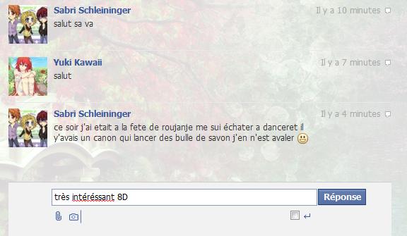 Facebook ~ Y'en a des gens zarb quand même !!! 8D