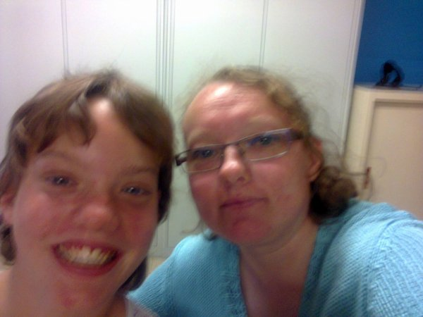 ma maman et ma soeur tiffany