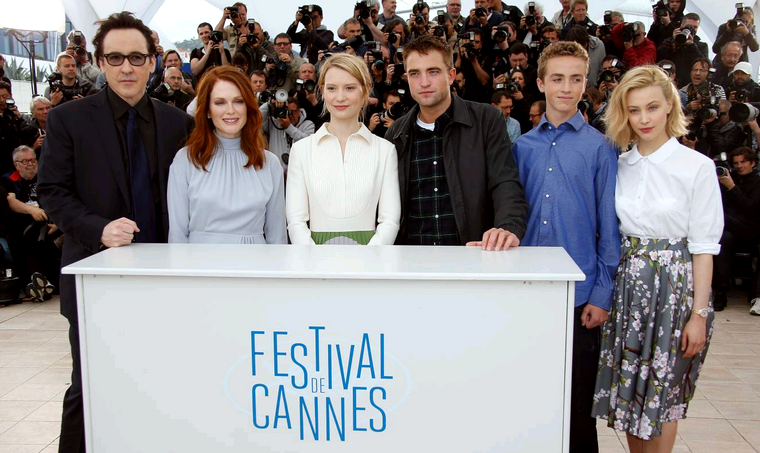 """Cannes is a circus, so you have to have fun with it."""
