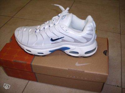 speical offer new authentic many fashionable Tn blanche signe bleu foncé - Blog de Tn-shoes
