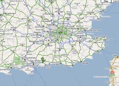 Carte Angleterre Cote Sud.Chichester 10 Mois En Angleterre 97 98 Ma Vie