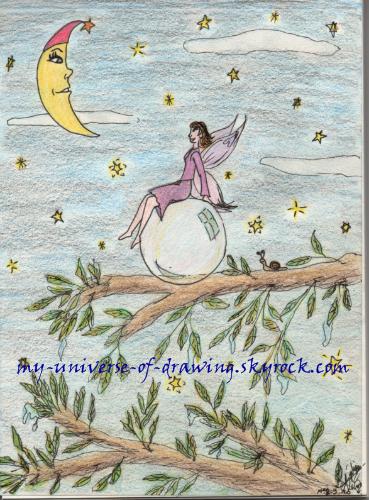 La fée et la lune