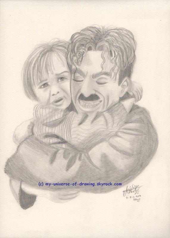Jackie Coogan & Charlie Chaplin