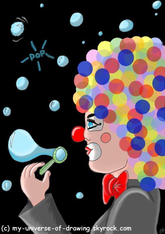 Le Clown aux Bulles