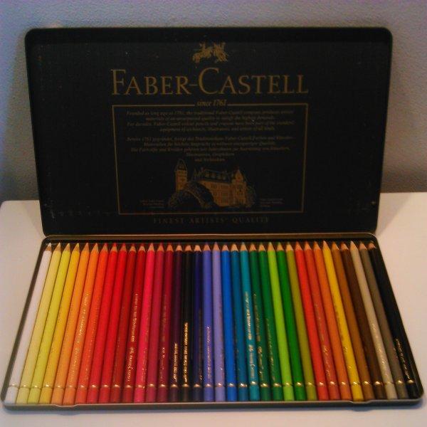 Nouveaux crayons enfin reçus !