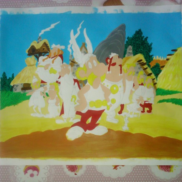 WIP : Asterix and friends (2)