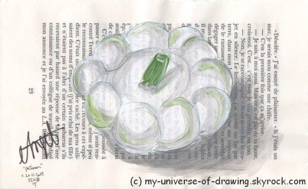 Acryliques sur Pages de Livre