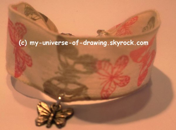 Bracelets en Tissus