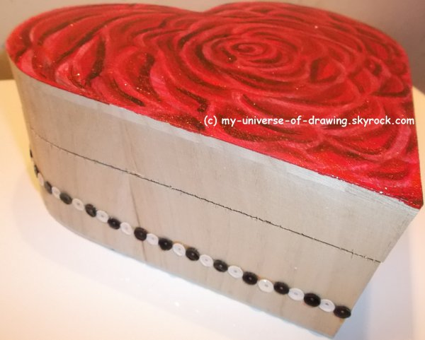 Rose contemporaine