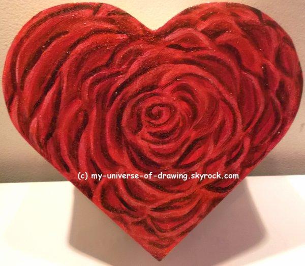 Rose contemporaine