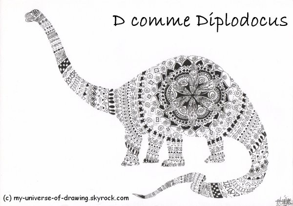 D comme Diplodocus